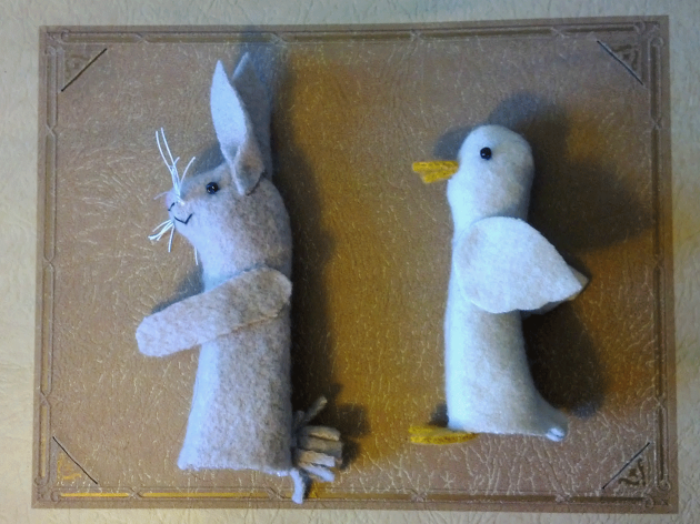 Bunny-duck-undressed