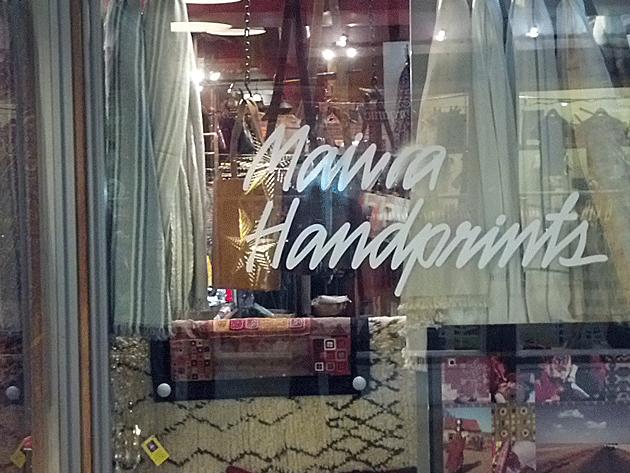 Maiwa Handprints Vancouver