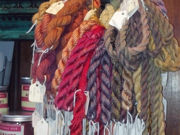 Maiwa-Supply-Natural Dyes - Perle Cotton