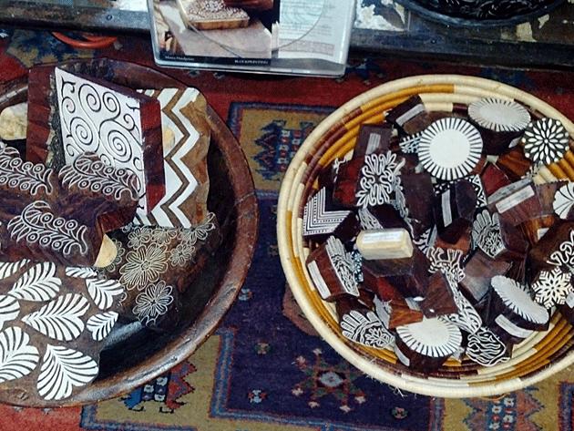 Maiwa Supply Hand-carved print blocks