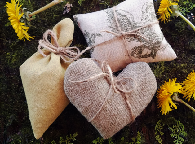 Lavender sachets - free patterns